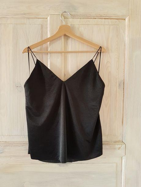 Czarny top Zara XL
