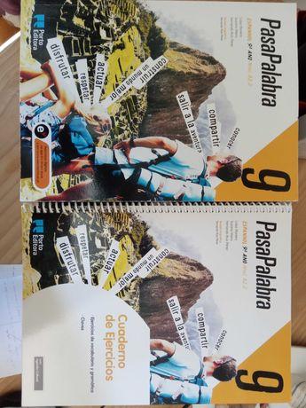Manual Espanhol Pasapalabra 9 + Caderno de exercícios