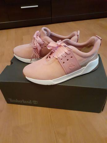 Timberland. Sneakersy damskie,różowe, rozm. 37.5