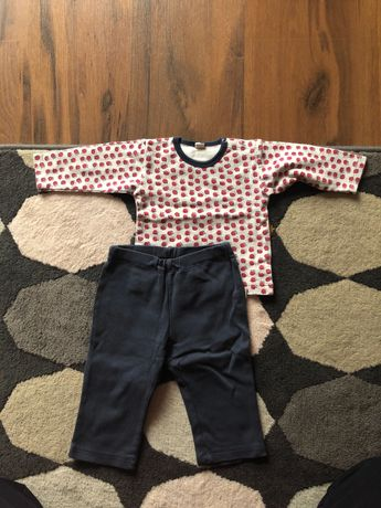Bluzeczka i spodenki rozmiar 62-68 stan bdb