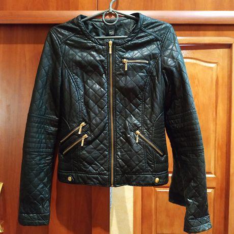 Куртка кожзам ветровка