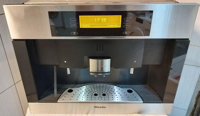 Встраиваемая кофеварка кофемашина Миле Miele CVA 4085