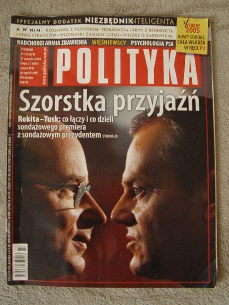 Tygodniki Polityka, Przekrój, Forum z 2005 roku