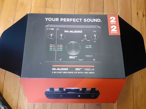 M-Audio AIR 192 interface