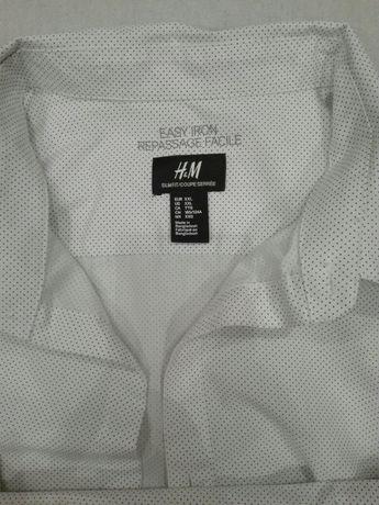 Męska koszula wizytowa z h&m rozm. Xxl slim fit