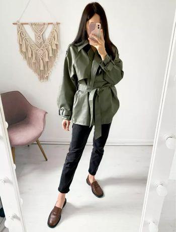 Vendo casaco em couro