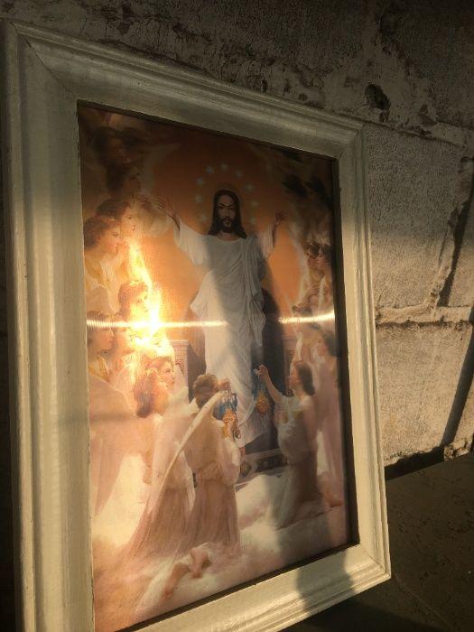 3-д икона Исус Христос и Матерь Божья Пятихатки - изображение 1