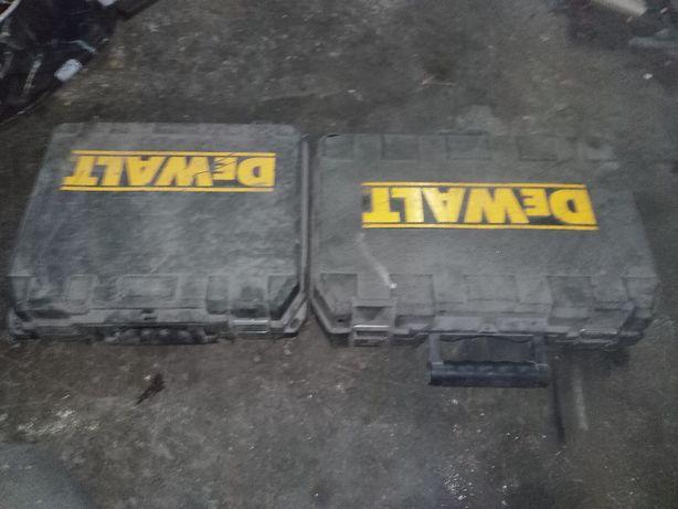 dwie walizki Dewalt