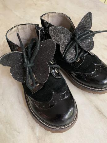 Кожаные ботиночки Evie shoes
