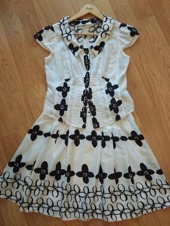Продам летний костюм( блуза и юбка)