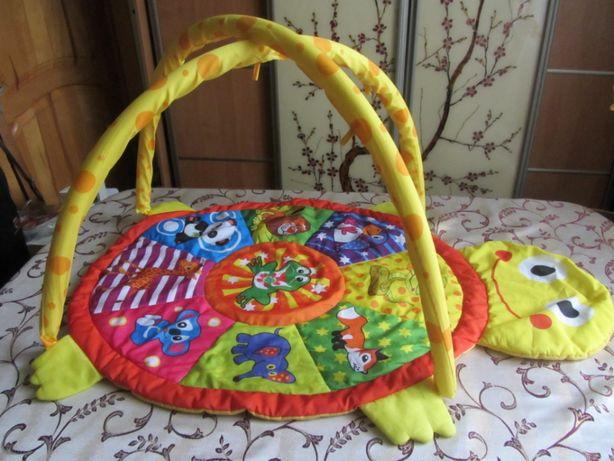 Розвиваючий килимок Черепаха