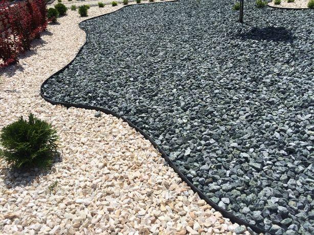 Grys zielony serpentynit 16-22 kamień ogrodowy dekoracyjny z dostawą