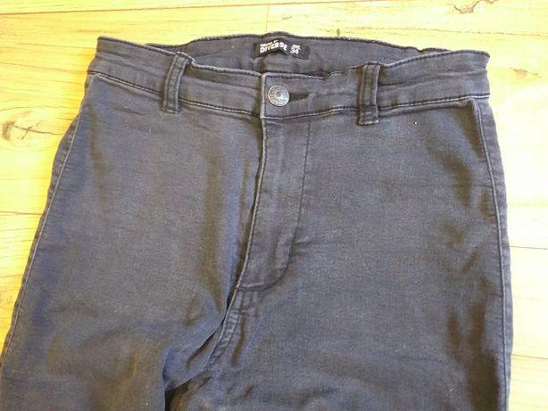 Diverse spodnie damskie rurki skinny 34
