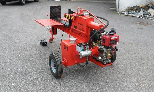 Rachador Lenha 20T gasolina c/rodado atrelado e puxo - Desde 2.305,00€