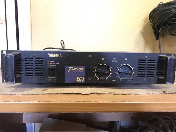 Yamaha p4500 усилитель