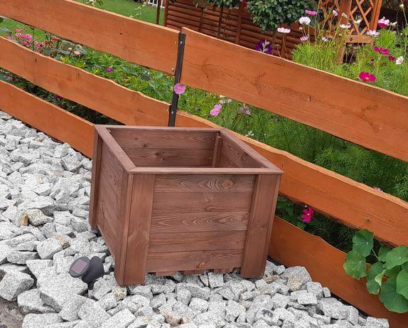 Donice ogrodowe/tarasowe na wymiar, donica drewniana/doniczka/skrzynka