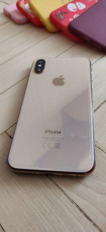 iPhone xs gold neverlock идеал как новый