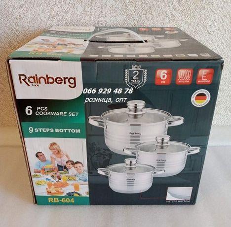 Набор кастрюльRainberg RB-6046 предметов