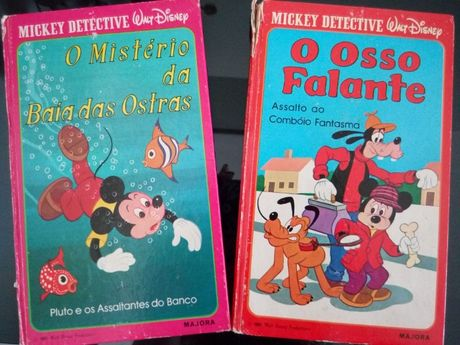 Livros da Coleção Mickey Detective