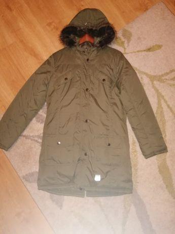 Zielona kurtka zimowa