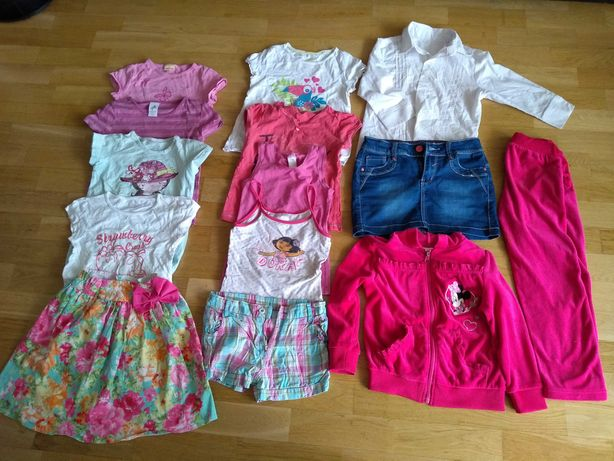 Ubrania dziewczynki 116-122