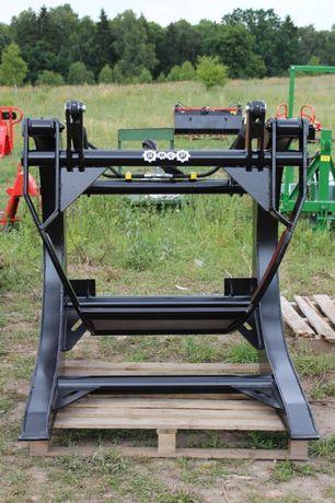 Chwytak do drewna XL powiększony bali kłód do ładowarki PRODUCENT