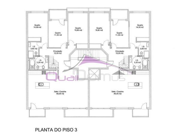Apartamento T3+1 em construção, com garagem, situado pert...