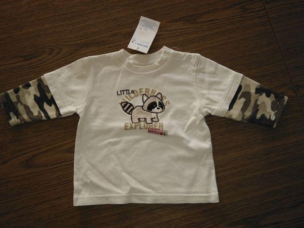 Nowa bluzeczka r. 74