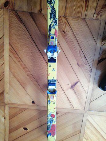Narty oraz buty narciarskie komplet