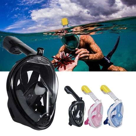 Маска для снорклинга, маска для подводного плавания XL и СМ