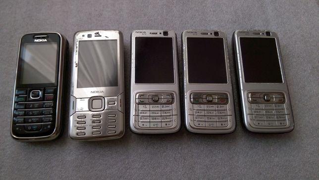 Оригінал ретро Nokia 6233 N73 N82 всі робочі!!! + аккумулятори