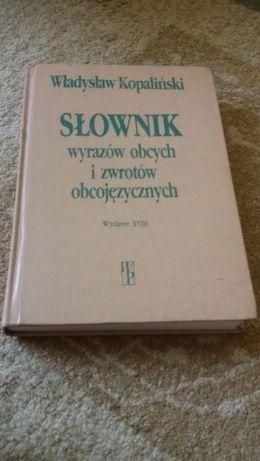 Słownik wyrazów obcych i zwrotów obco języcznych