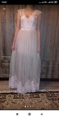 Платье свадебное, выпускное.