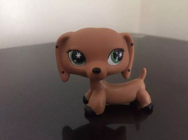 Littlest Pet Shop LPS Figurka Piesek Jamnik UNIKAT