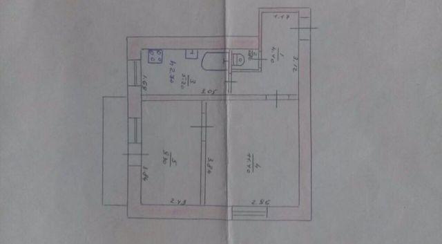 Продам двухкомнатную квартиру Амвросиевка