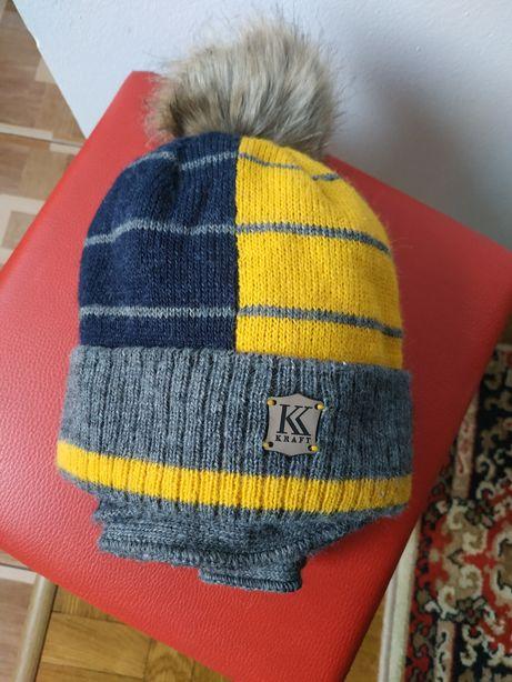 Зимова шапка +шарф