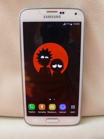 IDEALNY Samsung Galaxy S5 Duos LTE G900FD DUAL SIM biały komplet