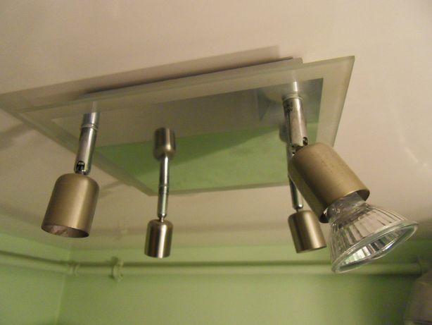 Lampa łazienkowa sufitowa z lustrem