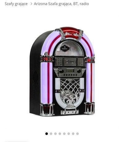 Auna Arizona Szafa grająca, BT, radio UKF, USB, SD, MP3, odtwarzacz CD