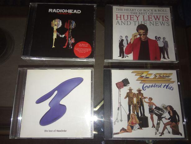 Radiohead, New Order ; ZZ Top; Huey Lewis