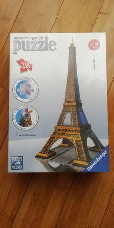 Puzzle 3D - Torre Eiffel