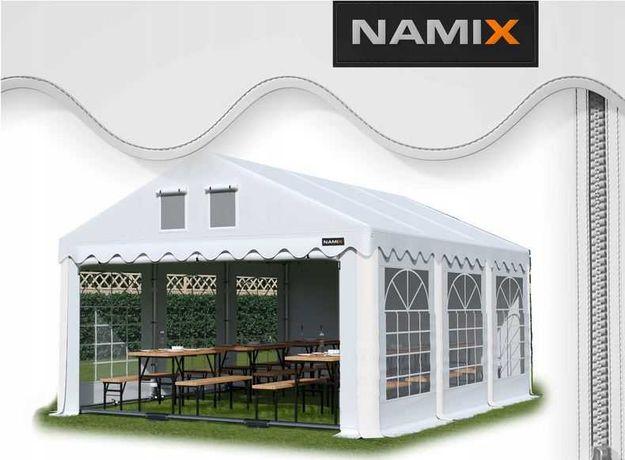 Namiot ROYAL 5x6 ogrodowy imprezowy garaż wzmocniony PVC 560g/m2