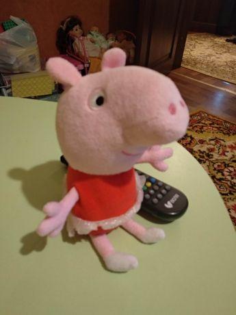 Мягкая игрушка Peppa Пеппа балерина