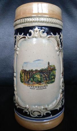 Пивний кухоль Пивной бокал (кружка) Luxembourg. 0,5л