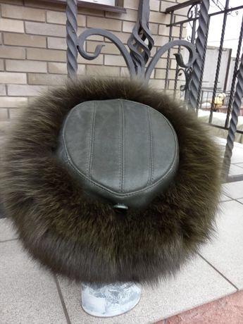 Женская песцовая шапка