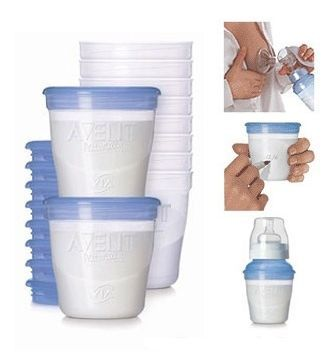 Контейнеры AVENt для пищи и молока,слюнявчик нагрудник новые поштучно