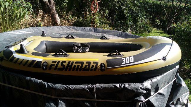 Ponton łódź rybacka Fishman 300 + akcesoria