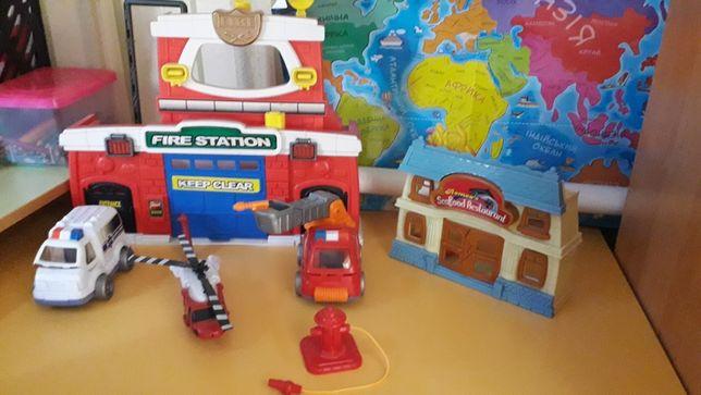 """Набор игрушек """"пожарник"""" все в комплекте"""