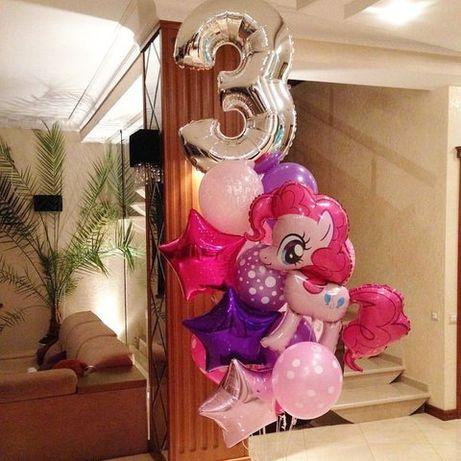 Кульки з гелієм, повітряні кульки, Львів, гелієві кульки, цифри, дост