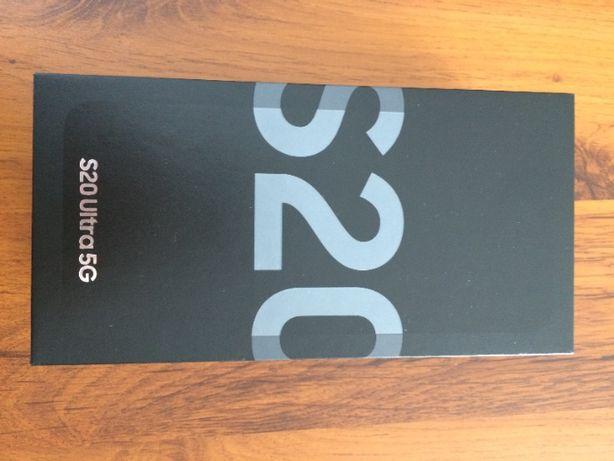 Samsung Galaxy S20 Ultra 128GB Cosmic Grey + ładowarka 45W +microSD 64